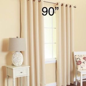 2 Jacquard Woven Embroidery Curtain